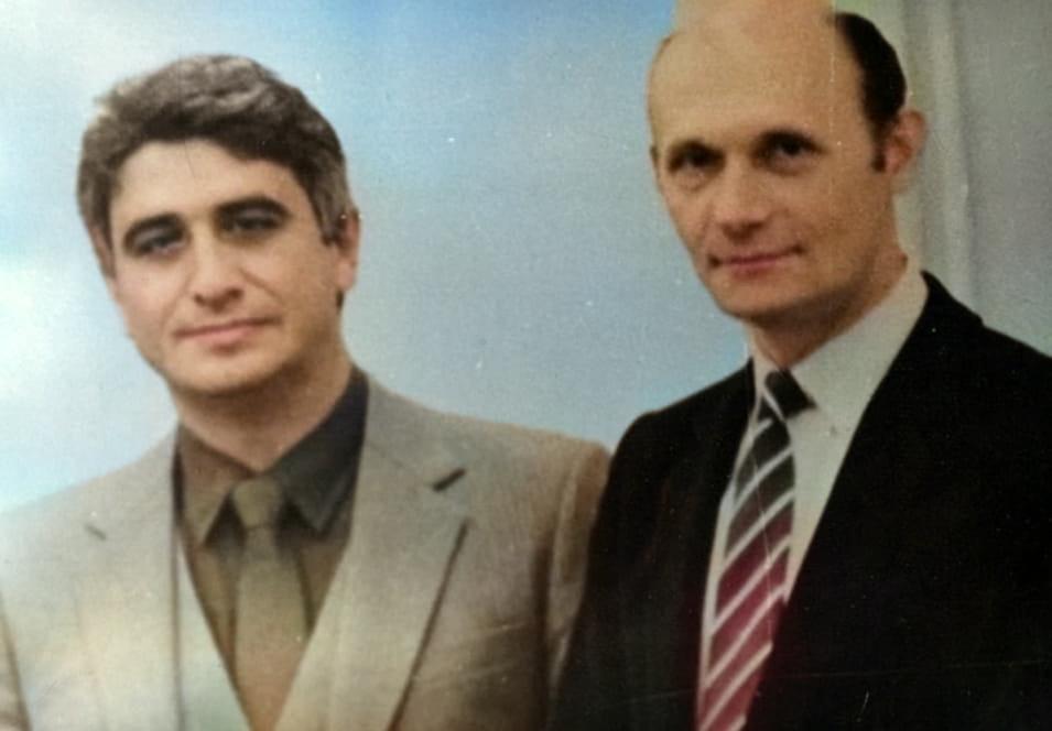 С Эдуардом Наумовым