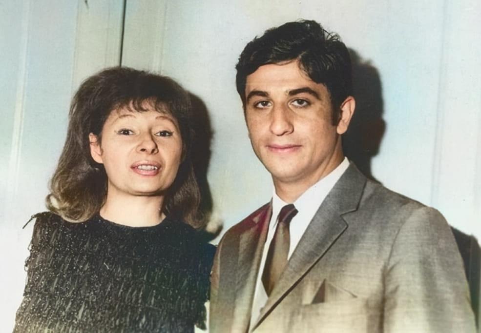 1972 год, с моей первой ассистенткой