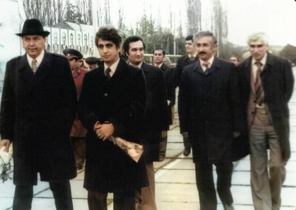 1979 год, в г. Ленкорань с помощником