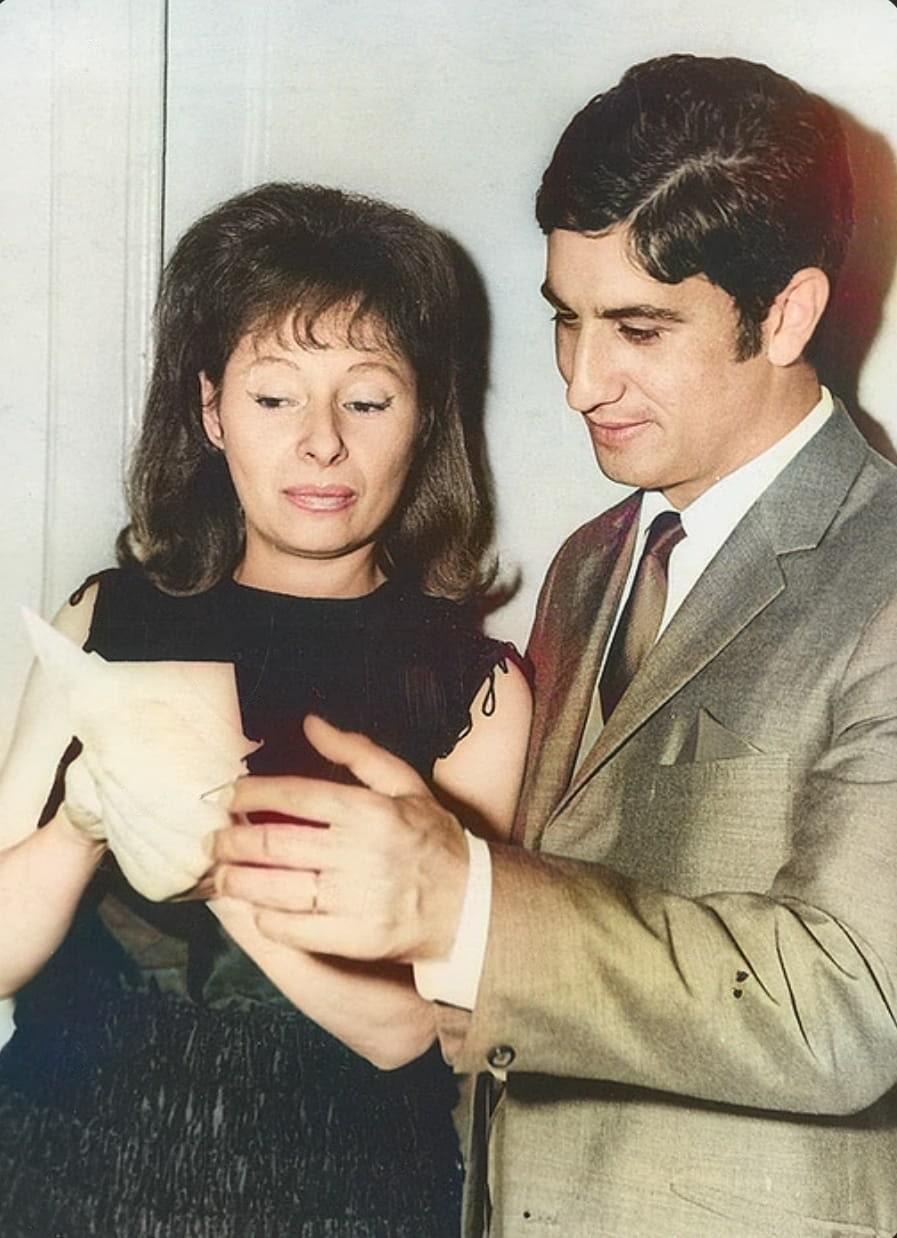 1972 год, с моей первой ассистенткой Татьяной Шабановой